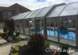 Brampton Ontario Retractable Pool Enclosure