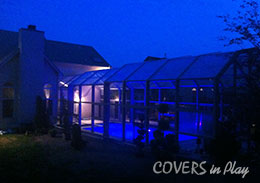 Chalfont Pennsylvania Retractable Pool Enclosure