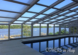 Chester North Carolina Retractable Pool Enclosures