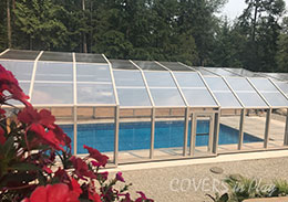 Large Pool Enclosure Mission British Columbia