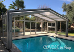 Mesa Arizona Retractable Pool Enclosure