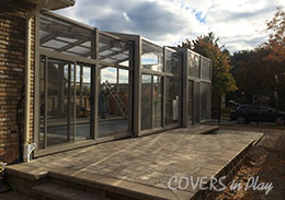 Retractable Pool Enclosure Burlington Ontario