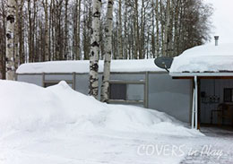 Valleyview Alberta Swimming Pool Enclosure