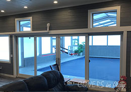 Verona Wisconsin Indoor Outdoor Pool Enclosure