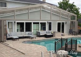 Holland Landing Ontario Pool Enclosure