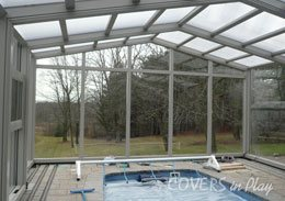 Milton Ontario Retractable Pool Enclosures