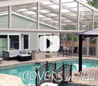 Covers in Play - Pool Enclosure retracts over the house