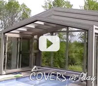 Covers in Play - Pool Enclosure from 3D computer model to installation