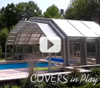 Covers in Play - Retractable Enclosure for Swim Spa